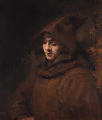 Рембрандт. Портрет молодого человека в одежде францисканца
